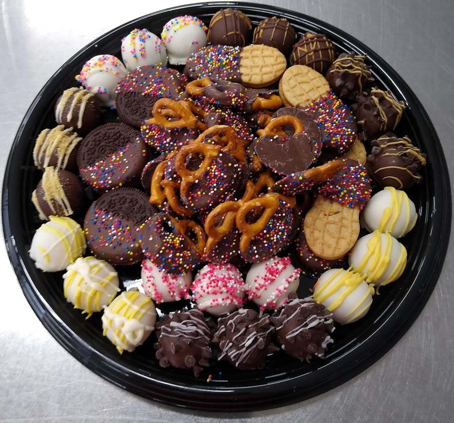 Chocolate Dipped Goody Platter - Small