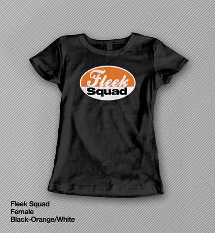 Fleek Squad - T shirt<br>(Female)