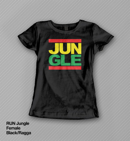 RUN Jungle - T shirt<br>(Female)