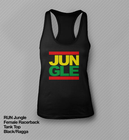 RUN Jungle - Racerback Tank Top<br>(Female)