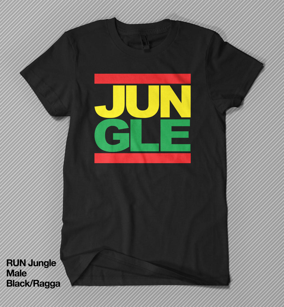 RUN Jungle - T shirt<br>(Male)