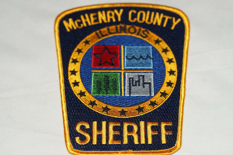 US McHenry County Illinois Sheriff Police Patch