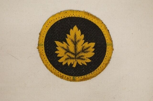 WW2 Canadian CMHQ London Headquarters Canvas Patch