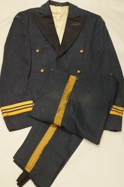 Canadian RCAF Officers Pilots Mess Dress Uniform and Pants Named 1
