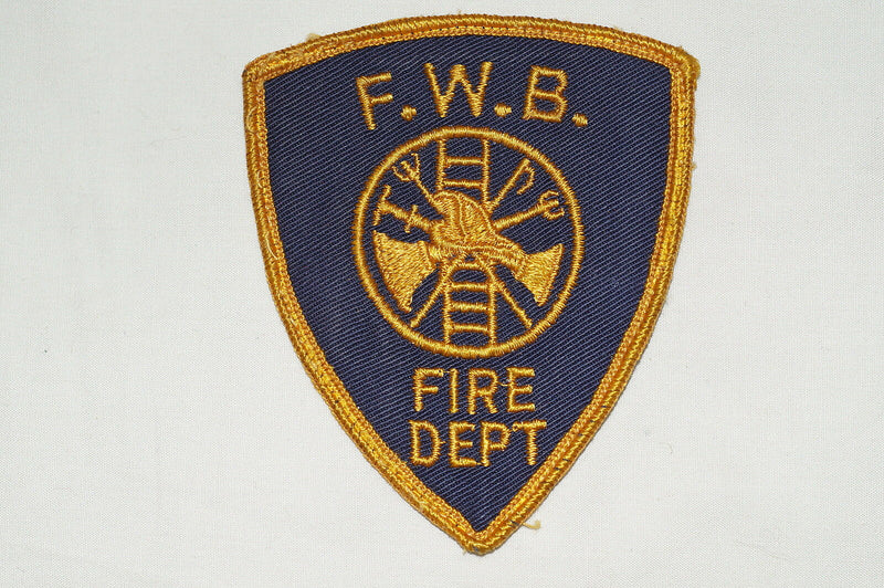 US FWB Fire Department Patch