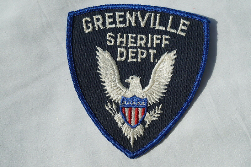 US Greenville Sheriff Dept Police Patch Obsolete