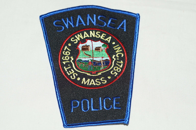 US Swansea Massachusetts Police Patch