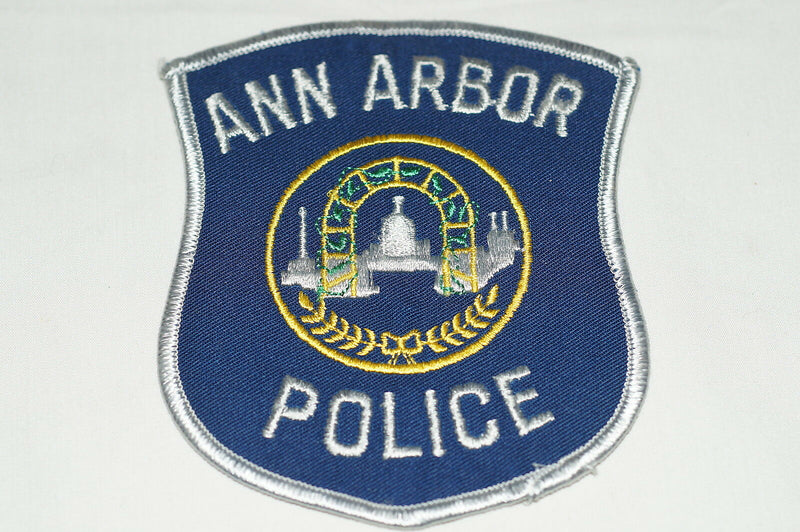 US Ann Arbor Michigan Police Patch 1