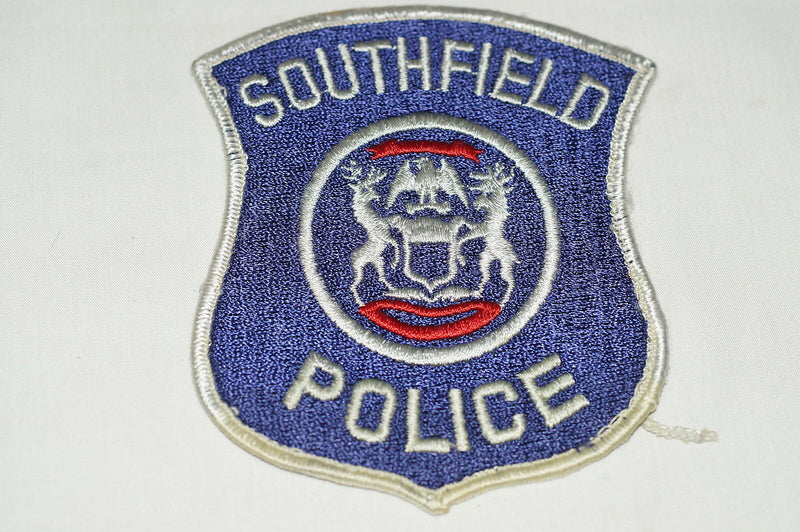 US Southfield Michigan Police Patch 2