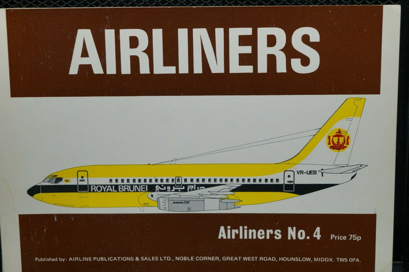 US  Canada  Airliners No 4 Reference Book