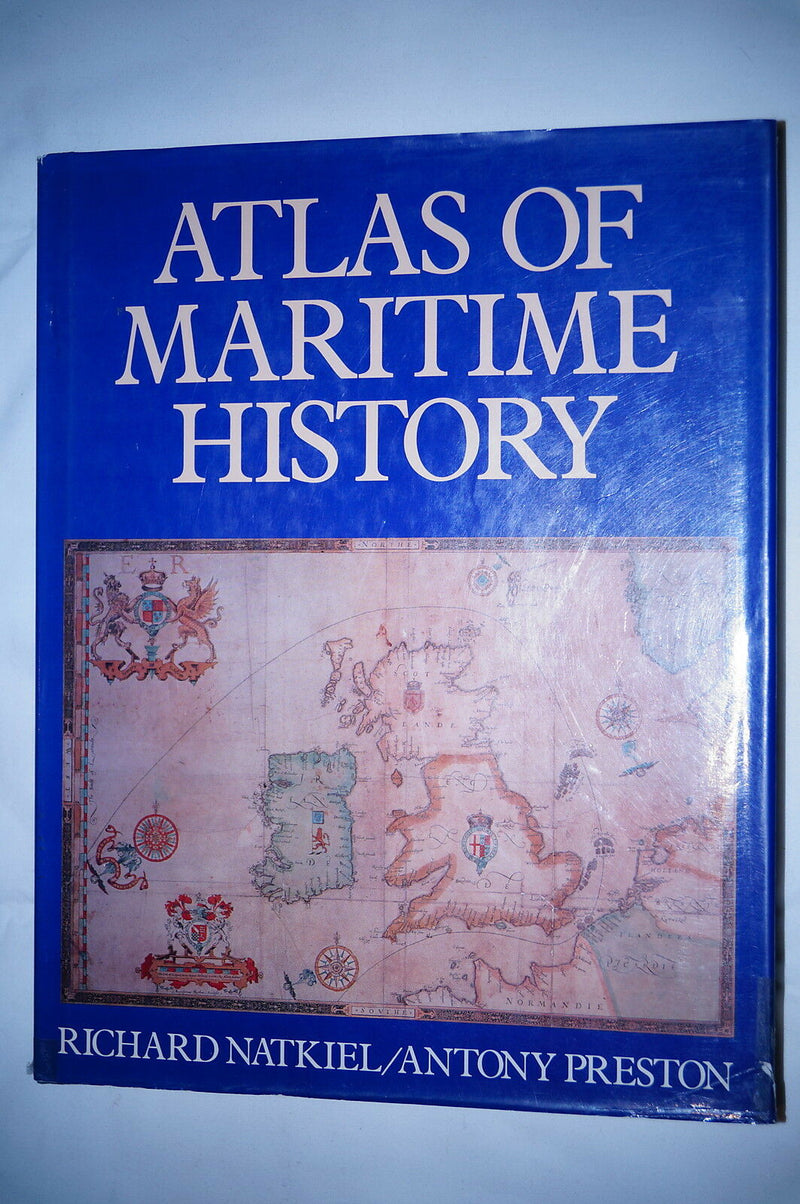 Atlas Of Maritime History Reference Book