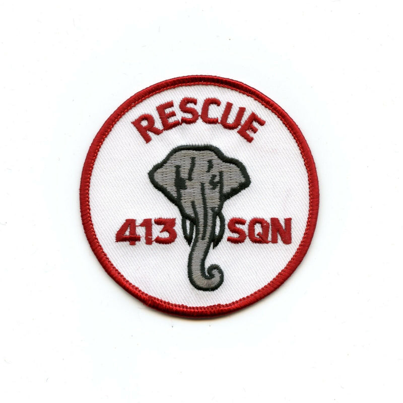 RCAF CAF Canadian 413 Rescue Elephant Squadron Crest Patch