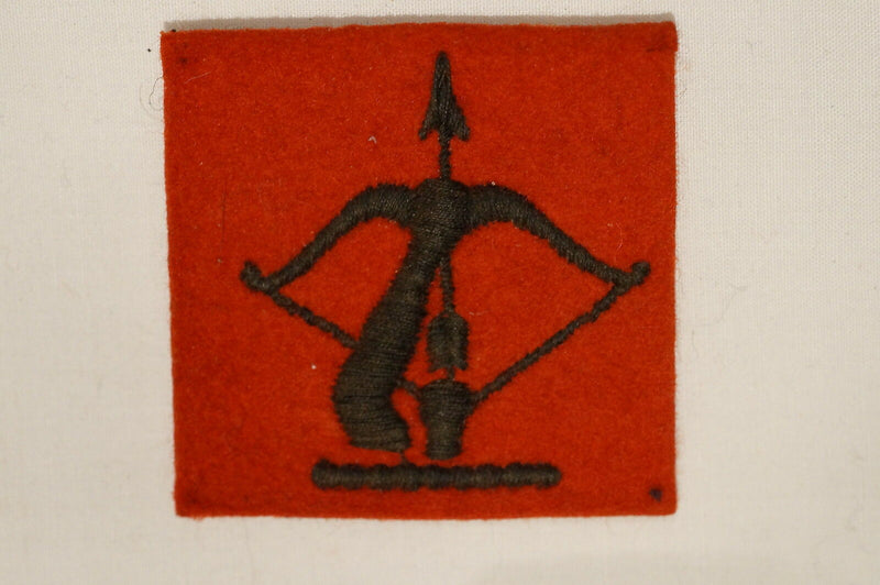 WW2 British 126th LAA Regiment Royal Artillery Divisional Patch 2