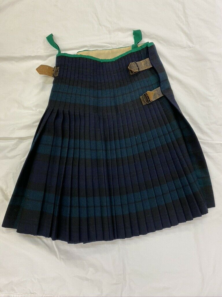 British Army Black Watch Government Tartan Kilt Other Ranks Dated 1954