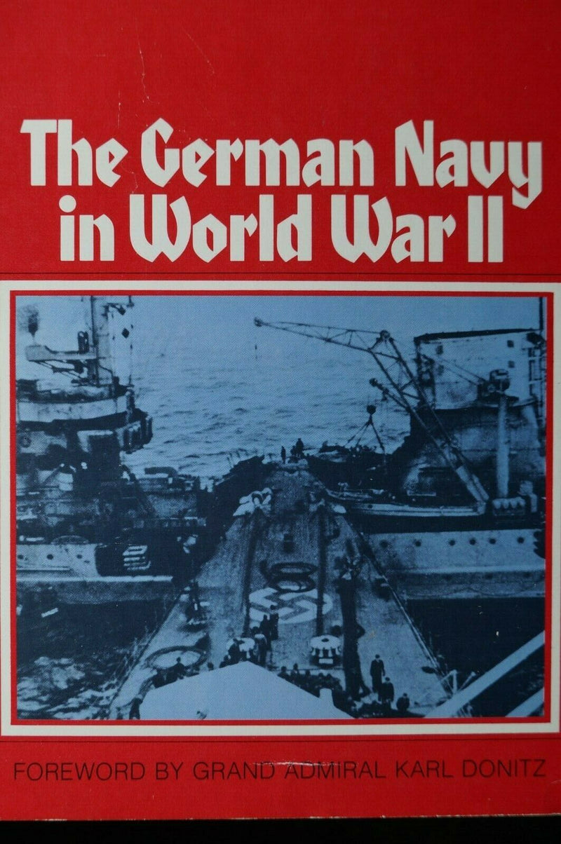 WW2 Germany Kreigsmarine The German Navy In WW2  Reference Book