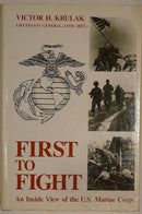 American First To Fight Inside View Of US Marine Corps Reference Book