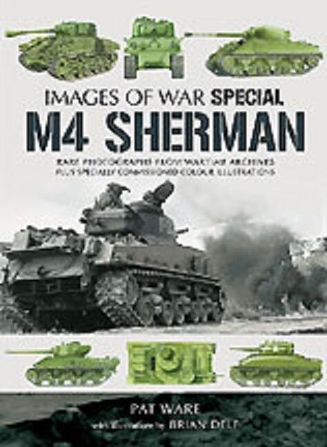 WW2 US Army M4 Sherman Tank Armour Images of War Reference Book