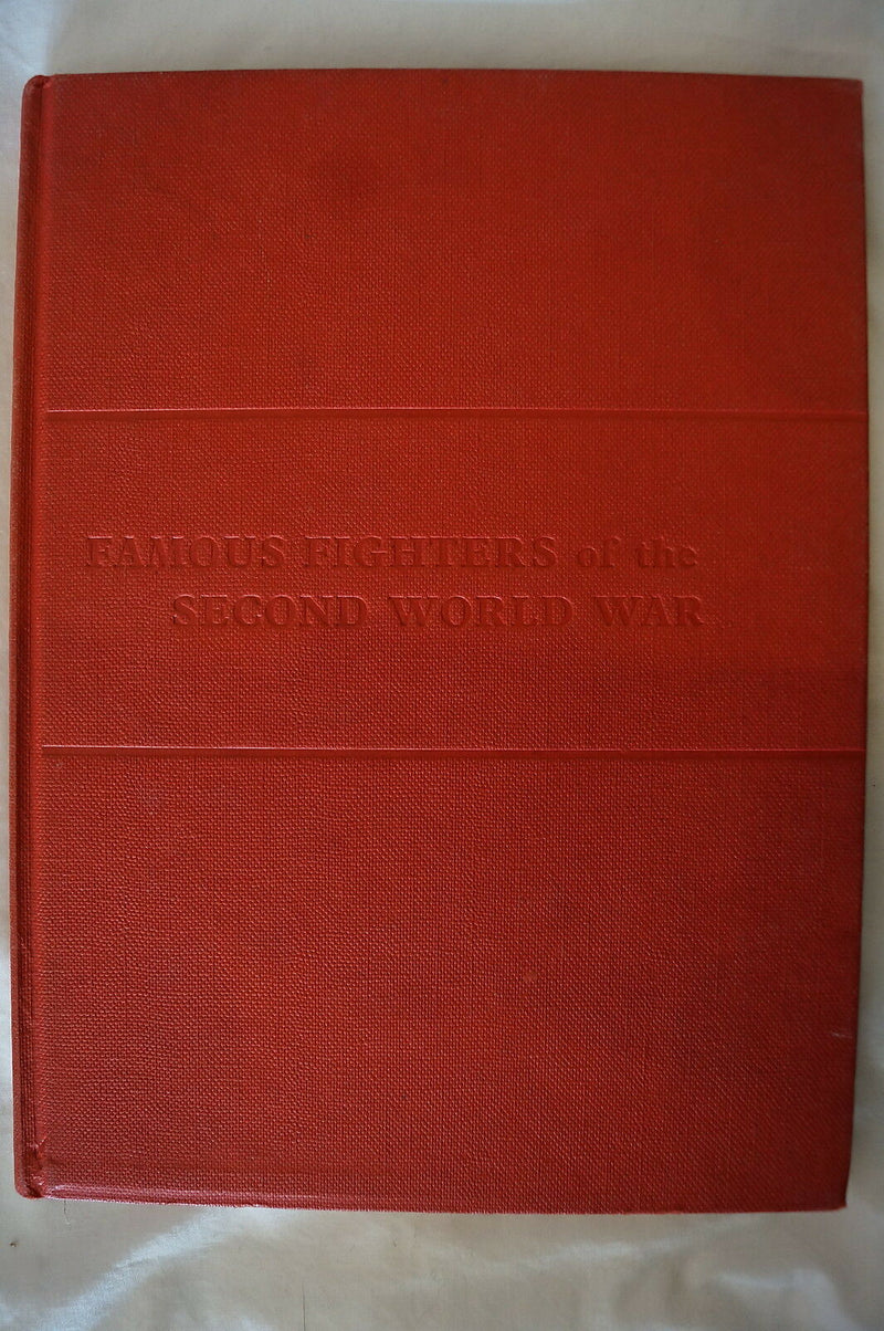 WW2 German US British Famous Fighters Aeroplanes Reference Book