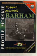 British Battleship Queen Elizabeth Cl. Barham Profile Morskie 44 Reference Book