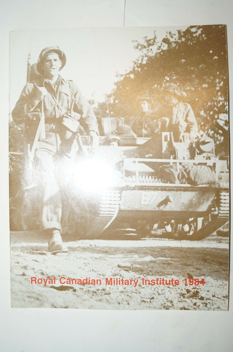 Royal Canadian Military Institute 1984 Reference Book