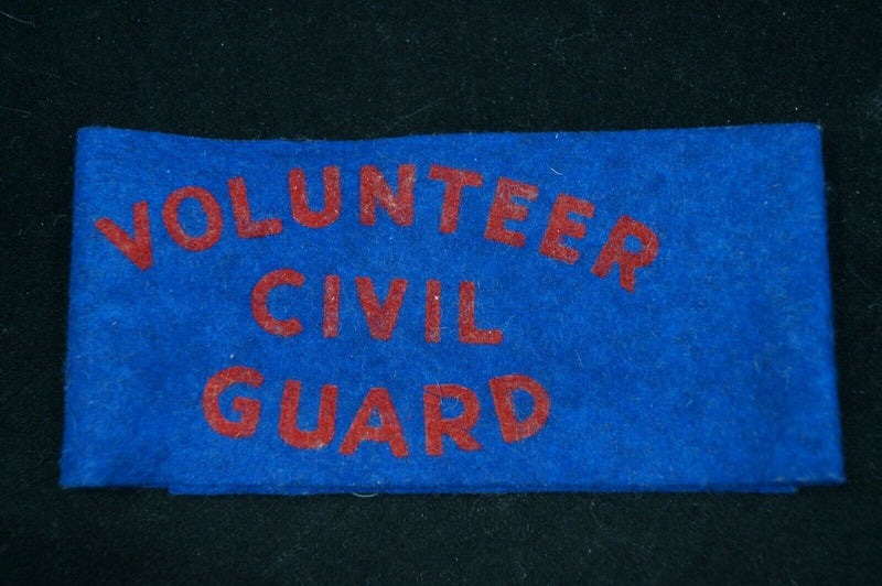 WW2 Canadian Volunteer Civil Guard Armband