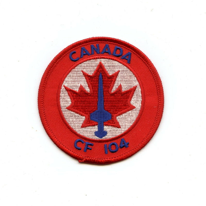 RCAF CAF Canadian CF-104 Starfighter Squadron Colour Crest Patch