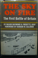 WW1 British German Sky On Fire First Battle Of Britain Book