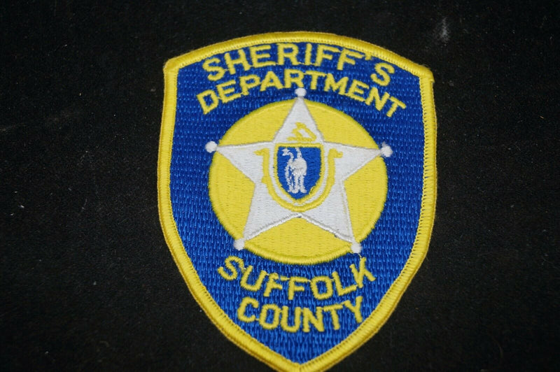 US Sheriffs Department Suffolk County Police Department Patch
