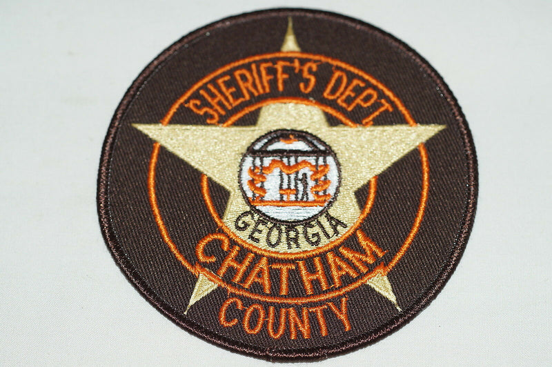 US Sheriffs Department Chatham County Georgia Police Patch