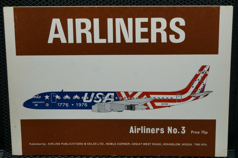 US  Britain  Airliners No 3 Reference Book