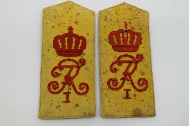 WW1 Imperial German 1st Guards Grenadiers Dunkelblau Shoulder Straps Pair