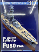 WW2 Japanese Battleship Fuso 1944 Kagero 16048 Reference Book