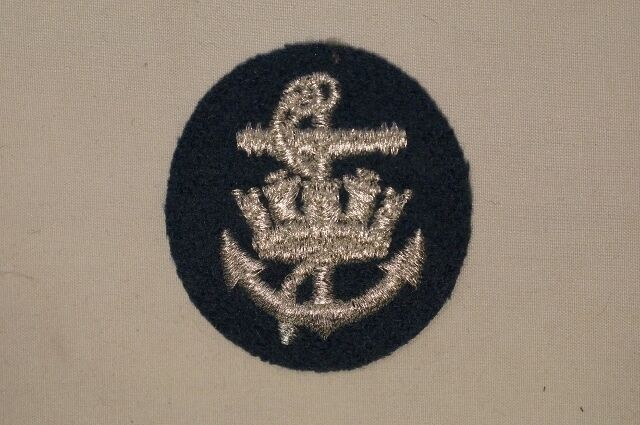 Canadian Forces RCAF Sea Service Silver Patch Insignia