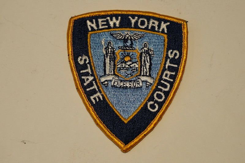 US New York State Courts Police Patch