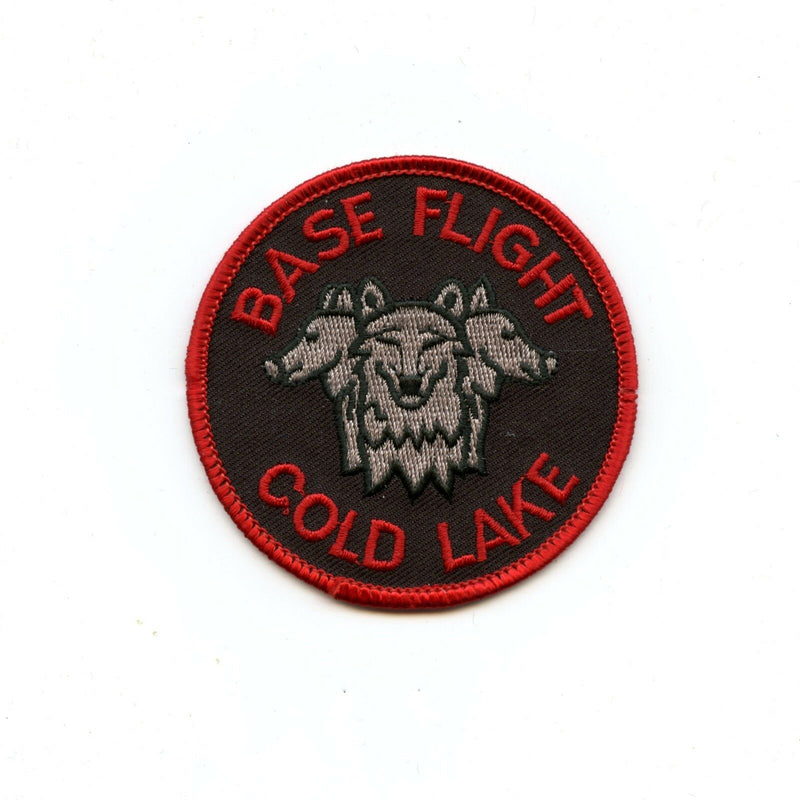 RCAF CAF Canadian 4 Wing Cold Lake Base Flight Colour Crest Patch