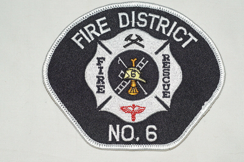 US Fire District No. 6 Fire Department Patch