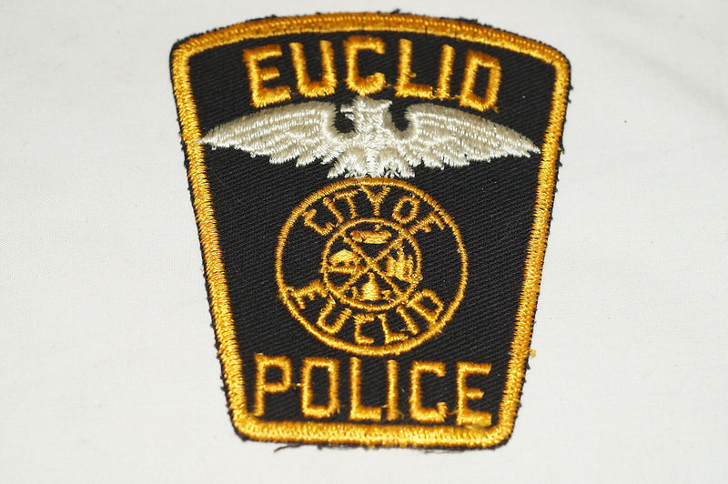 US City of Euclid Ohio Police Patch 3