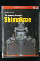 WW2 Japanese Destroyer Shimakaze Topdrawings 62 Reference Book