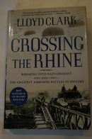 WW2 US British Airborne Crossing The Rhine Breaking Into Germany Reference Book