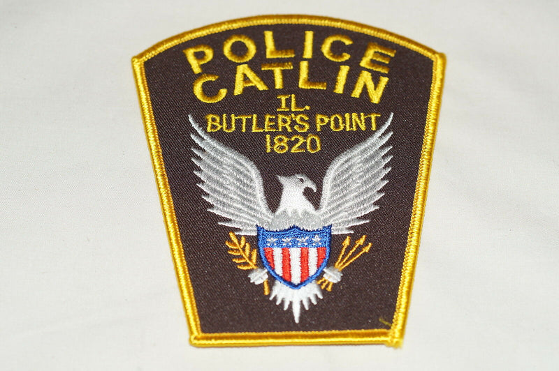 US Catlin Butlers Point Illinois Police Patch