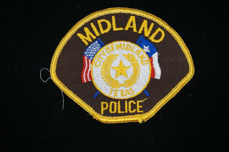 US Midland Texas Police Patch