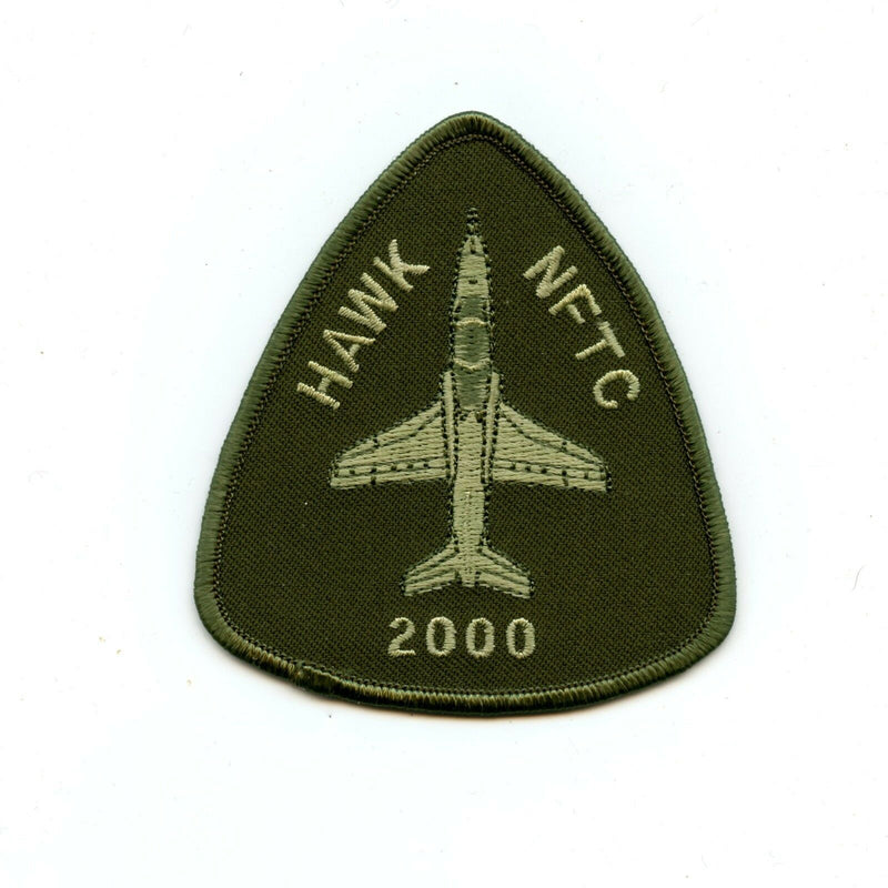 RCAF CAF Canadian NATO Flight Training NFTC Hawk 2000 Hours OD Crest Patch