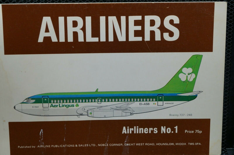 US Airliners No 1  Reference Book