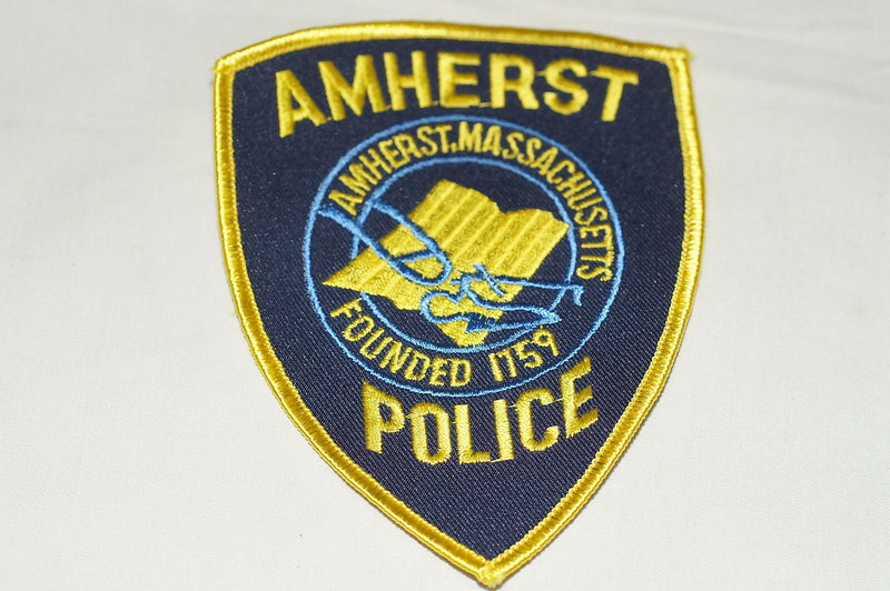 US Amherst Massachusetts Police Patch