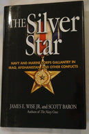 US Navy Marine Corp Silver Star Gallantry in Iraq Afghanistan Reference Book