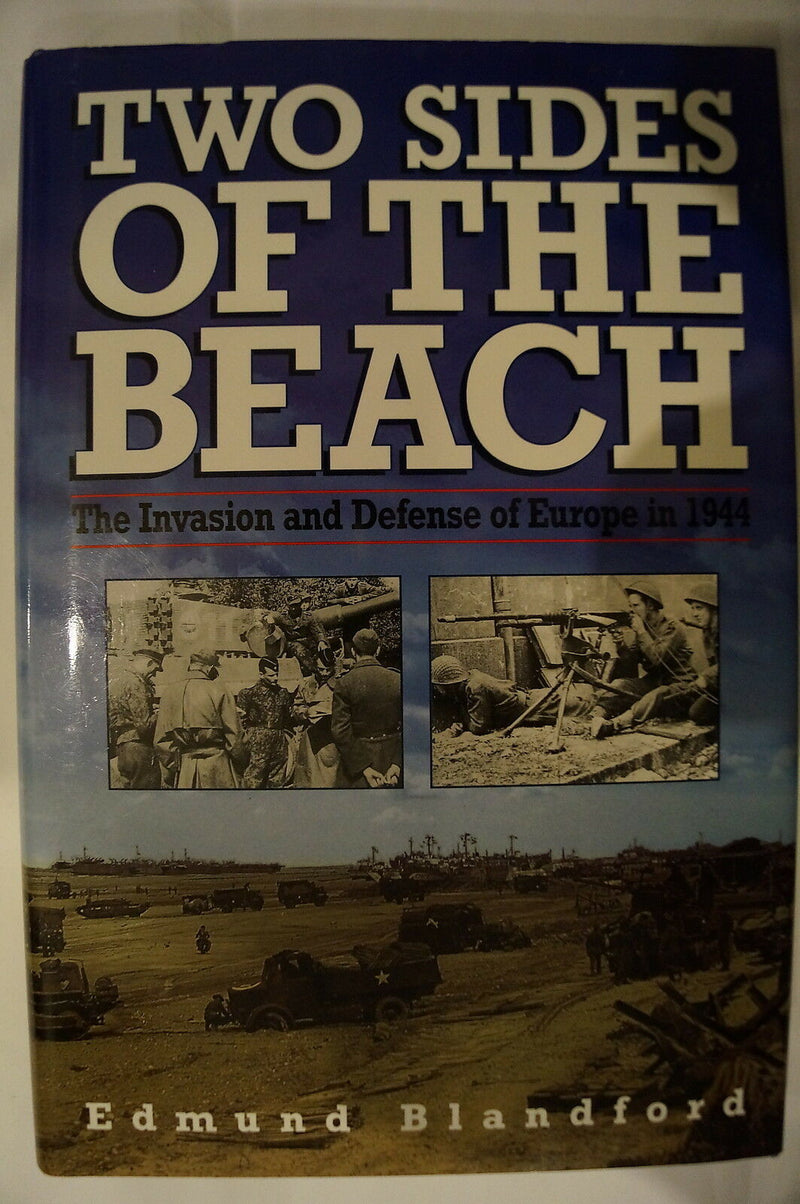 WW2 German British US Invasion Defense Of Europe 2 Sides of Beach Reference Book