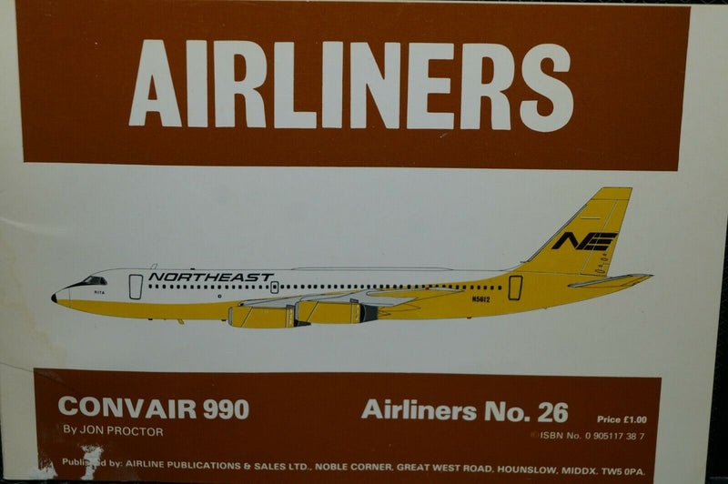 US  Airliners No 26 Reference Book