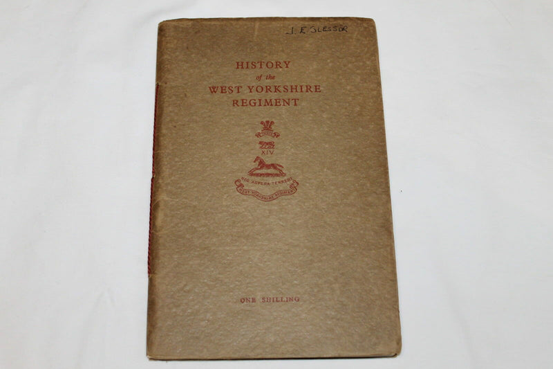 WW2 British History Of The Yorkshire Regiment Reference Book