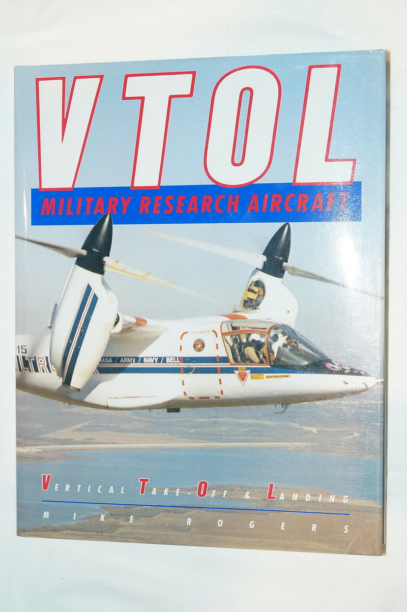 Cold War US USN VTOL Military Research Aircraft Reference Book