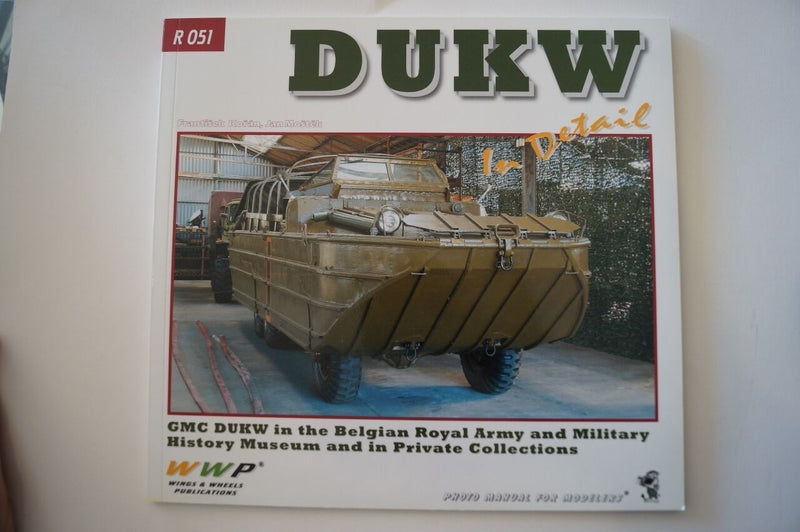 WW2 US DUKW In Detail GMC Model Reference Book